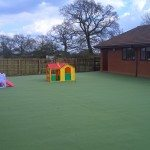 artificial playground flooring