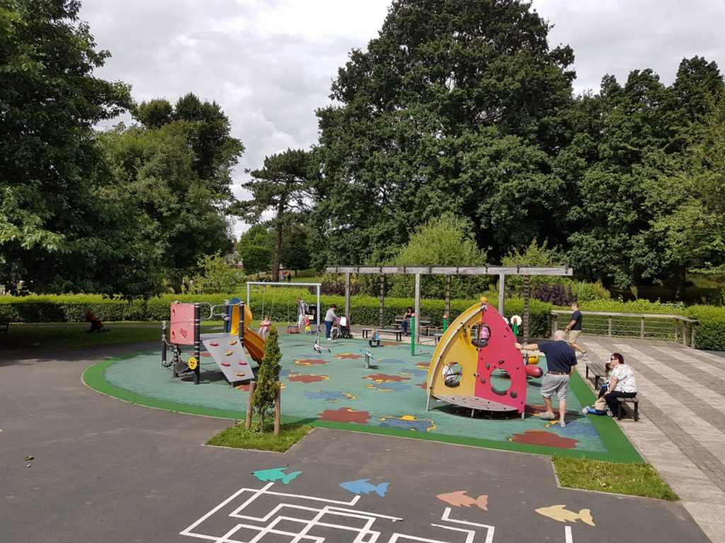 repairs service for playground surfaces