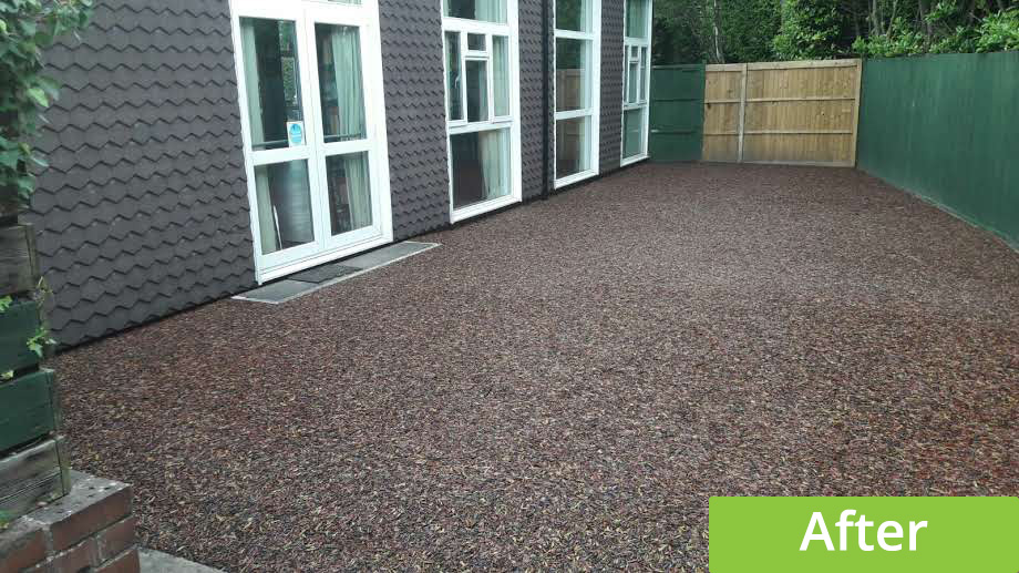 outdoor play area surface