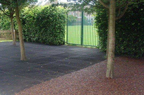 playground flooring finishes