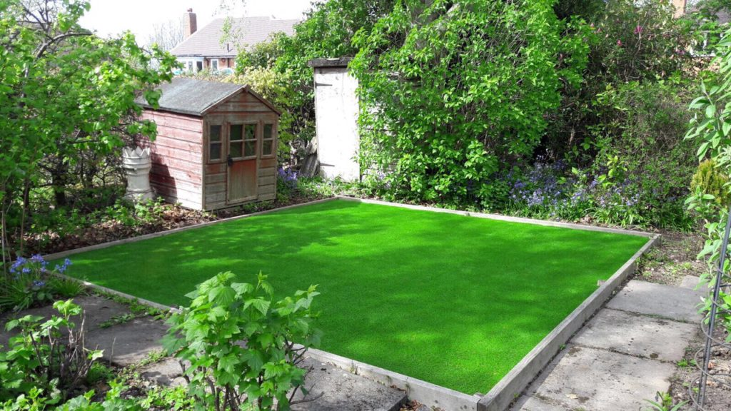 artificial grass installation in west midlands
