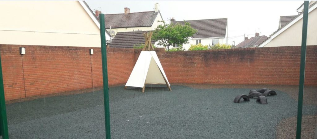 all weather playground surface
