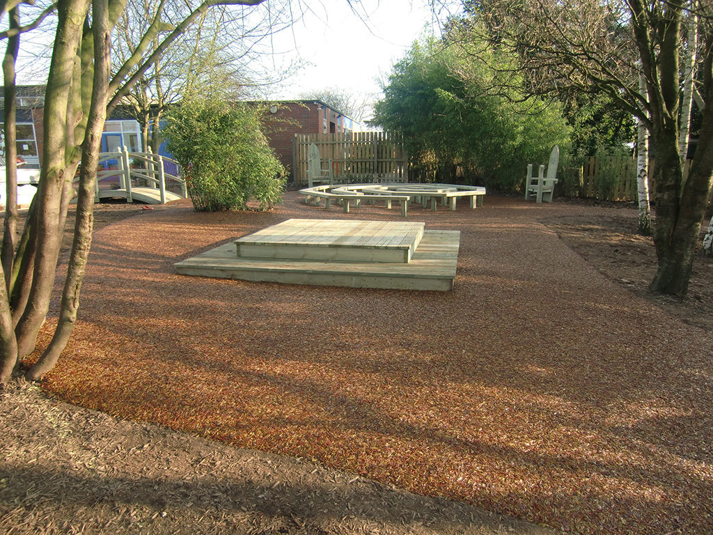 surfacing for outdoor classrooms